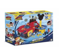 Garajul lui Mickey Mouse Disney Roadster Racers